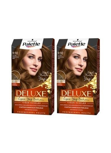 Palette Palette Deluxe Yoğun Renkler 9-50 Altın Parıltılı Balx 2 Paket Renkli